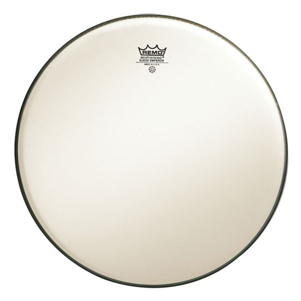 "Remo 22"" Emperor Suede Bass Drum Head"