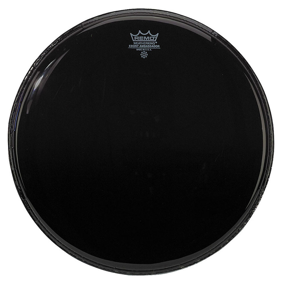 "Remo 18"" Ambassador Ebony Bass Drum Head"