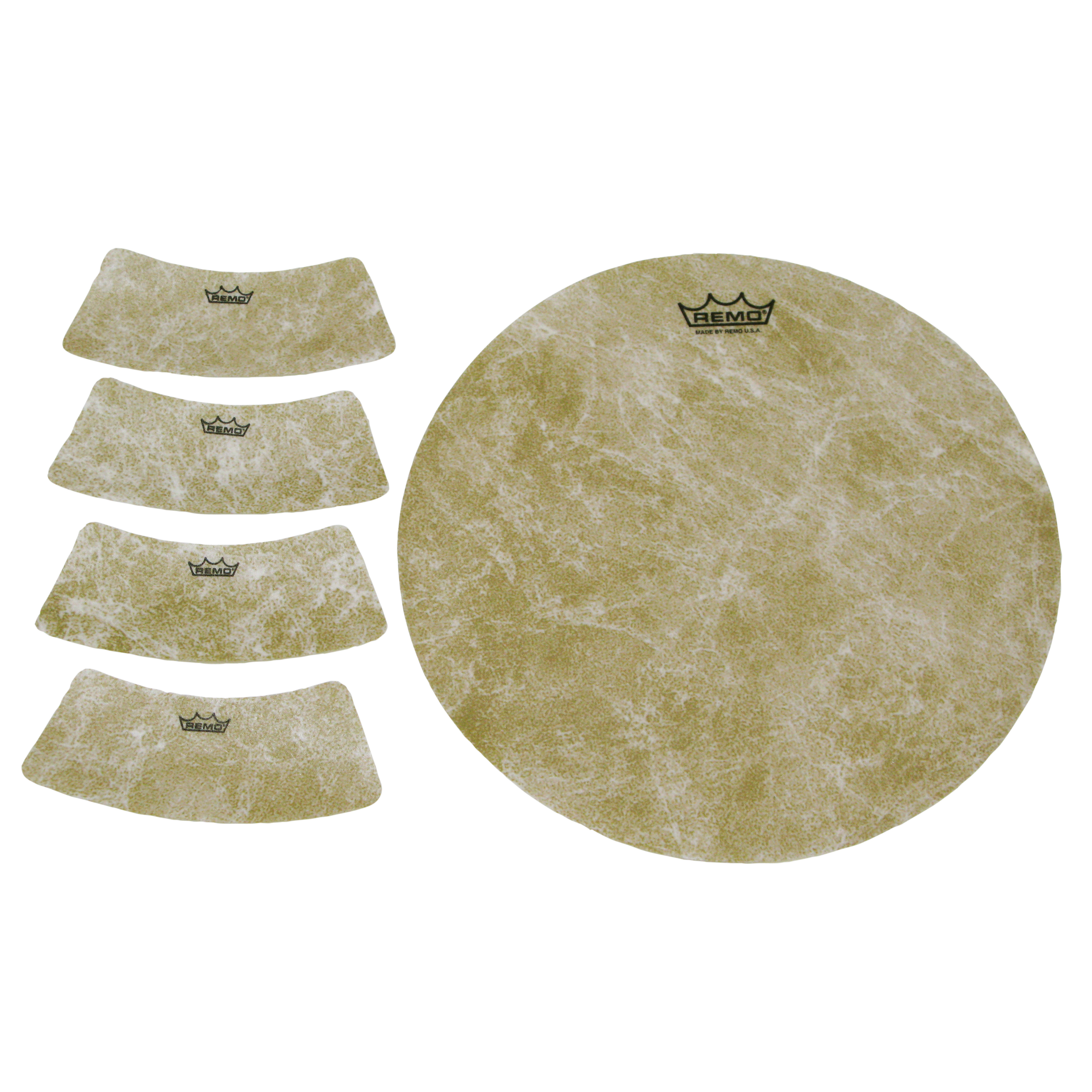 "Remo 9.75"" Circle and 4 Small Texture Targets"