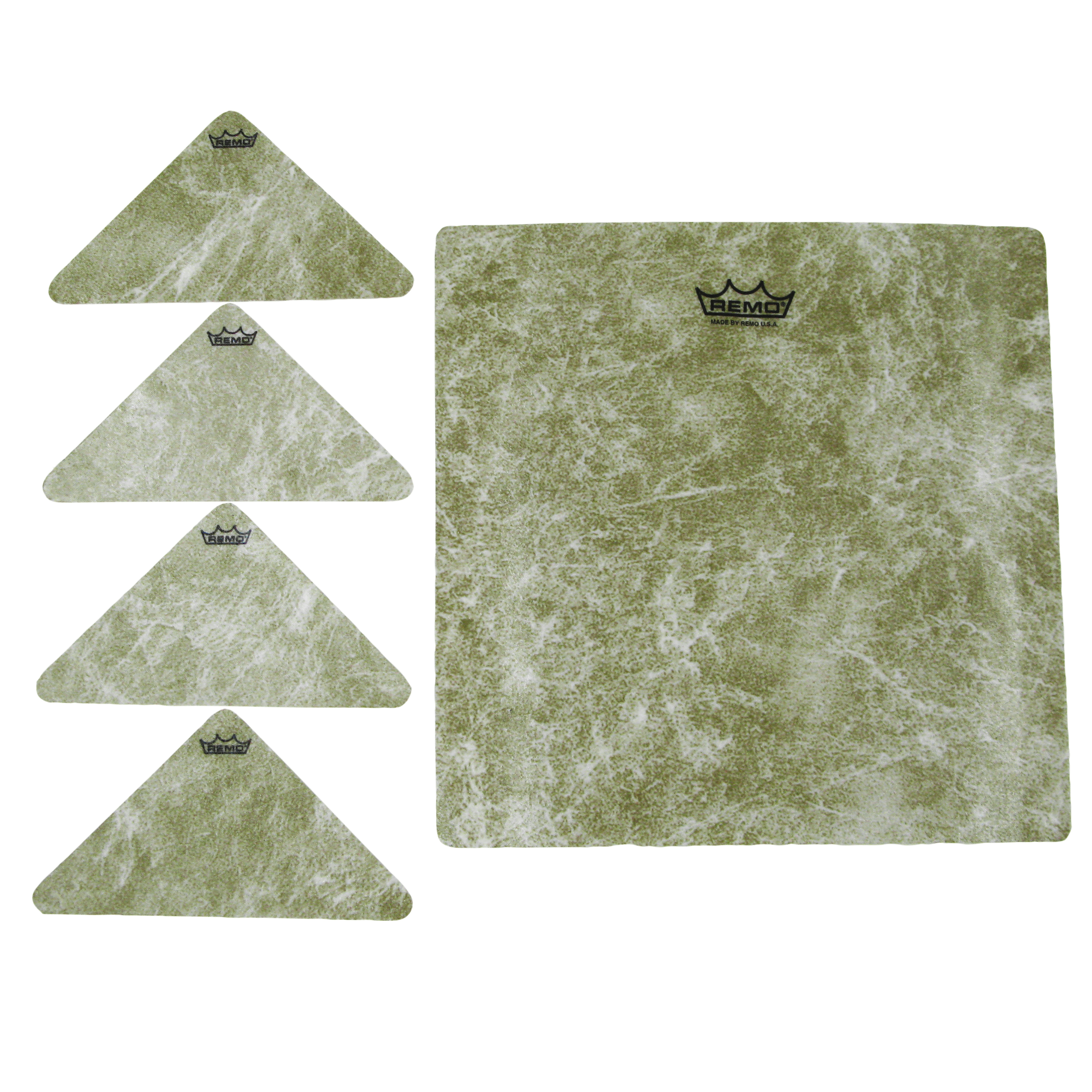"Remo 9.25"" Square and 4 Small Texture Targets"
