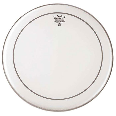 "Remo 20"" Powerstroke P3 Smooth White Bass Drum Head with Falam Patch"