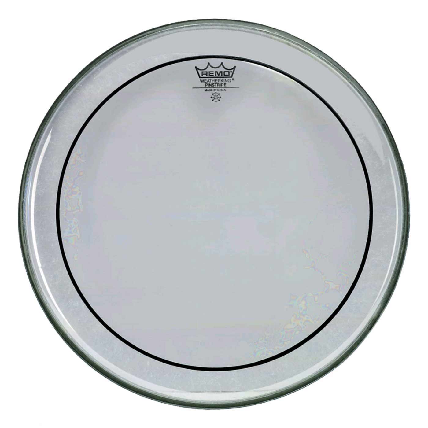 "Remo 8"" Pinstripe Clear Drum Head"