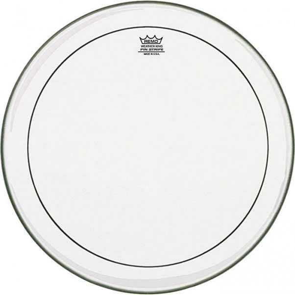 "Remo 12"" Pinstripe Clear Drum Head"