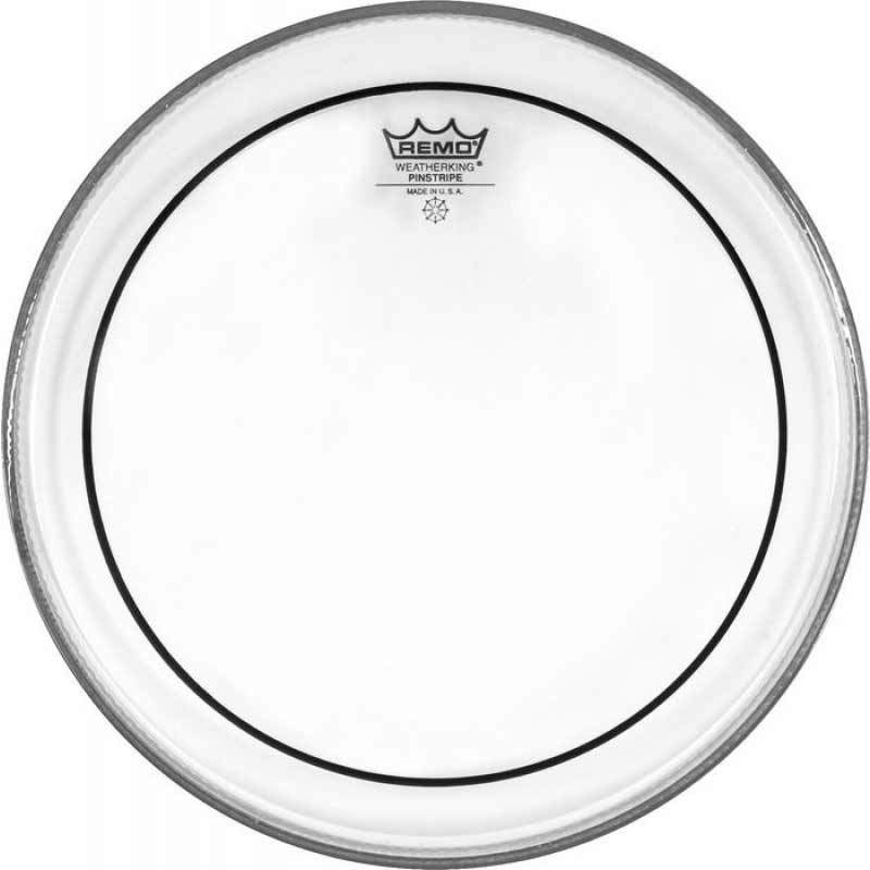 "Remo 14"" Pinstripe Clear Drum Head"