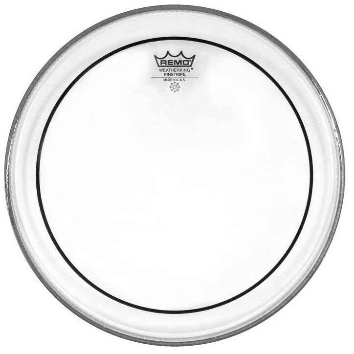 "Remo 15"" Pinstripe Clear Drum Head"