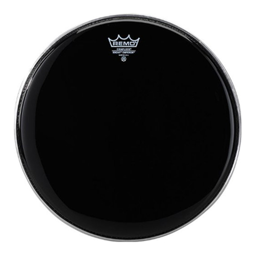"Remo 6"" Pinstripe Ebony Crimplock Marching Tenor Drum Head"