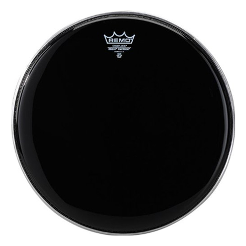 "Remo 8"" Pinstripe Ebony Crimplock Marching Tenor Drum Head"