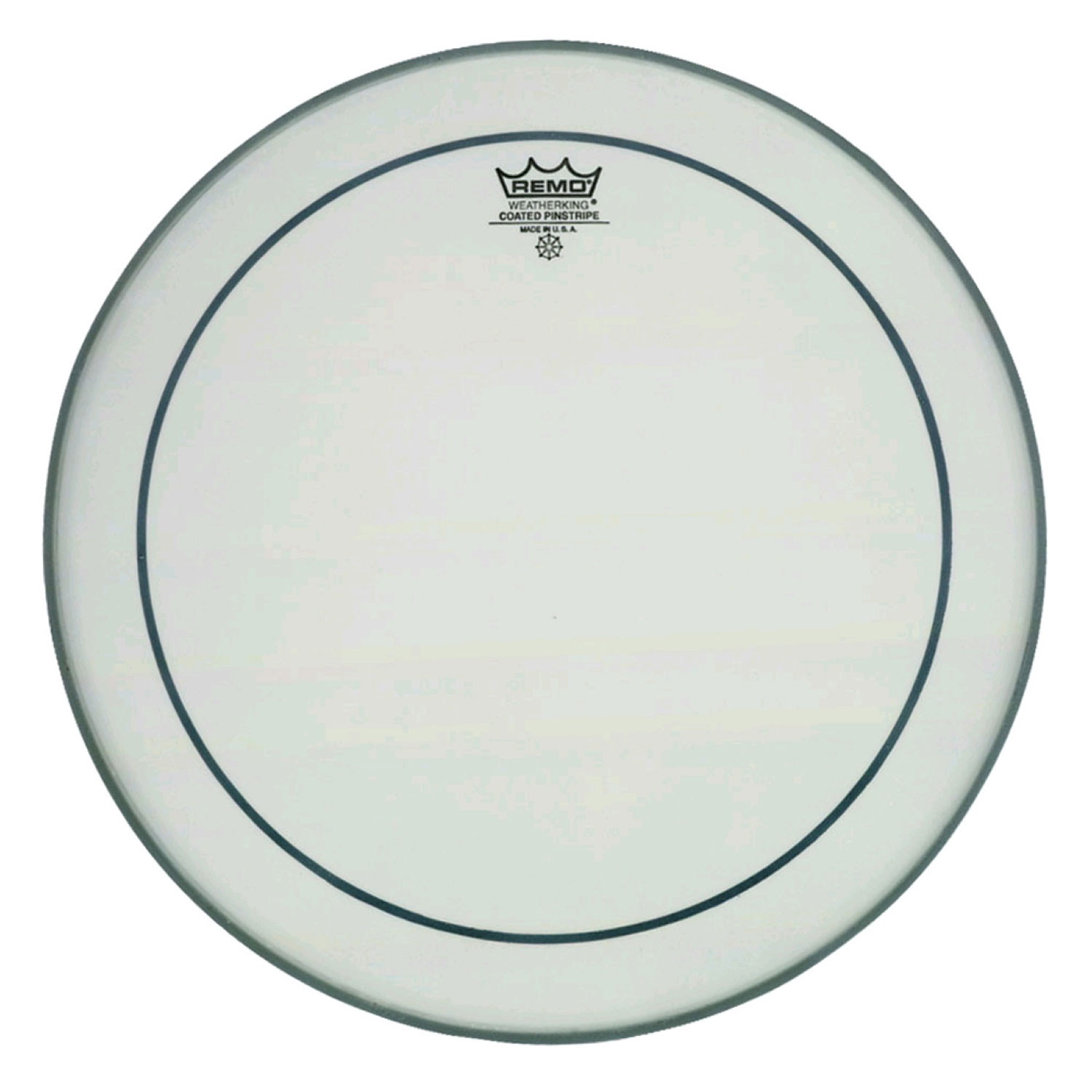 """Remo 18"""" Pinstripe Coated Bass Drum Head"""