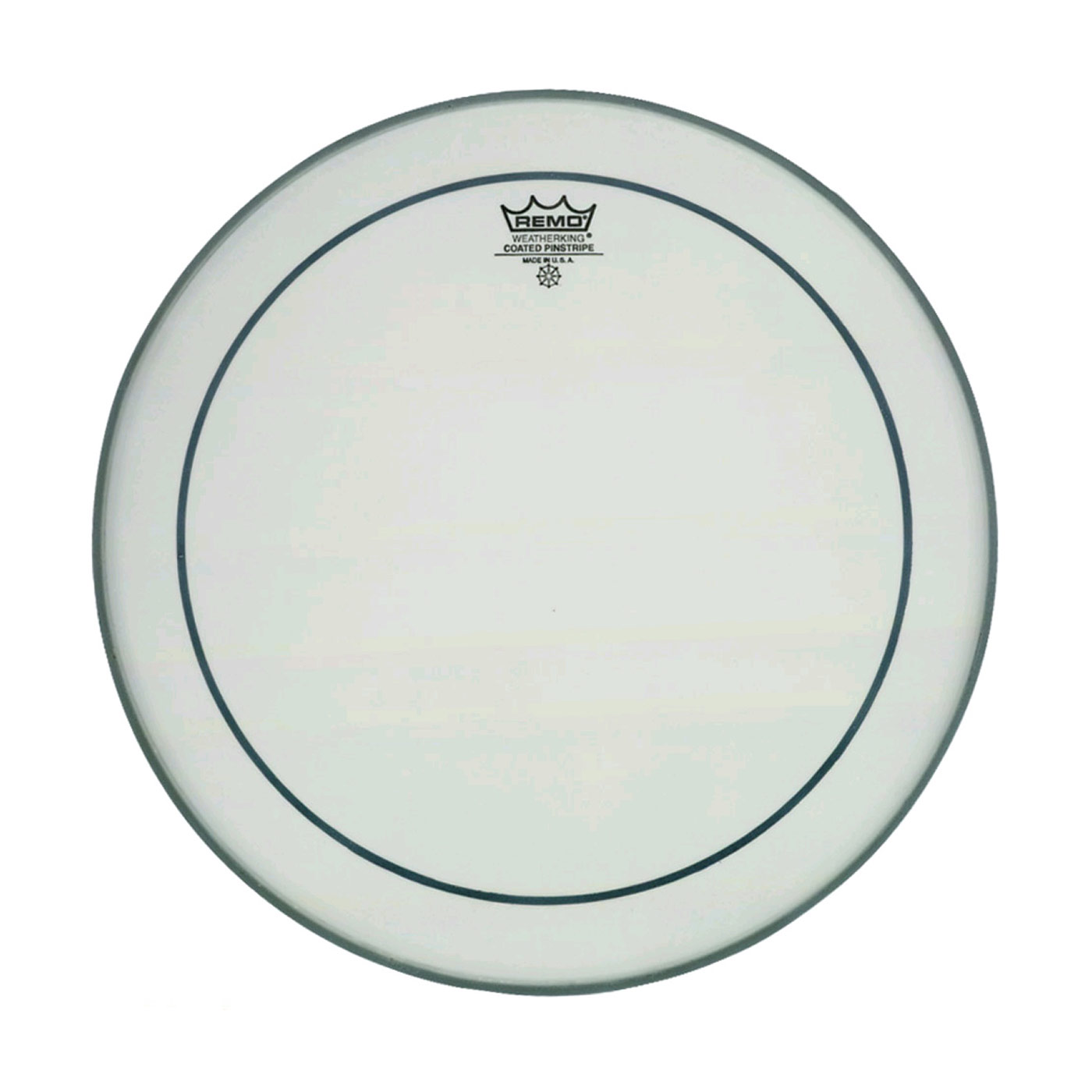 """Remo 22"""" Pinstripe Coated Bass Drum Head"""