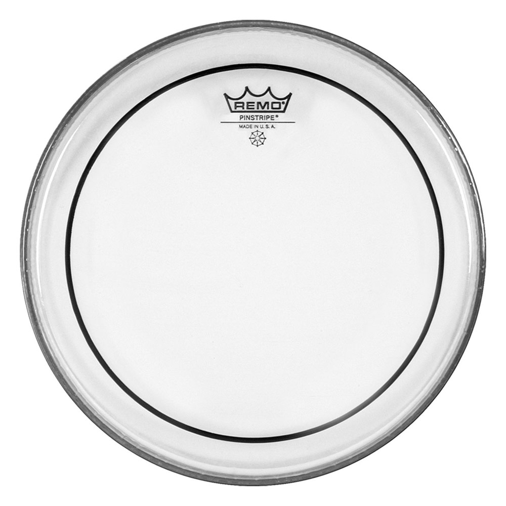 "Remo 22"" Pinstripe Clear Bass Drum Head"