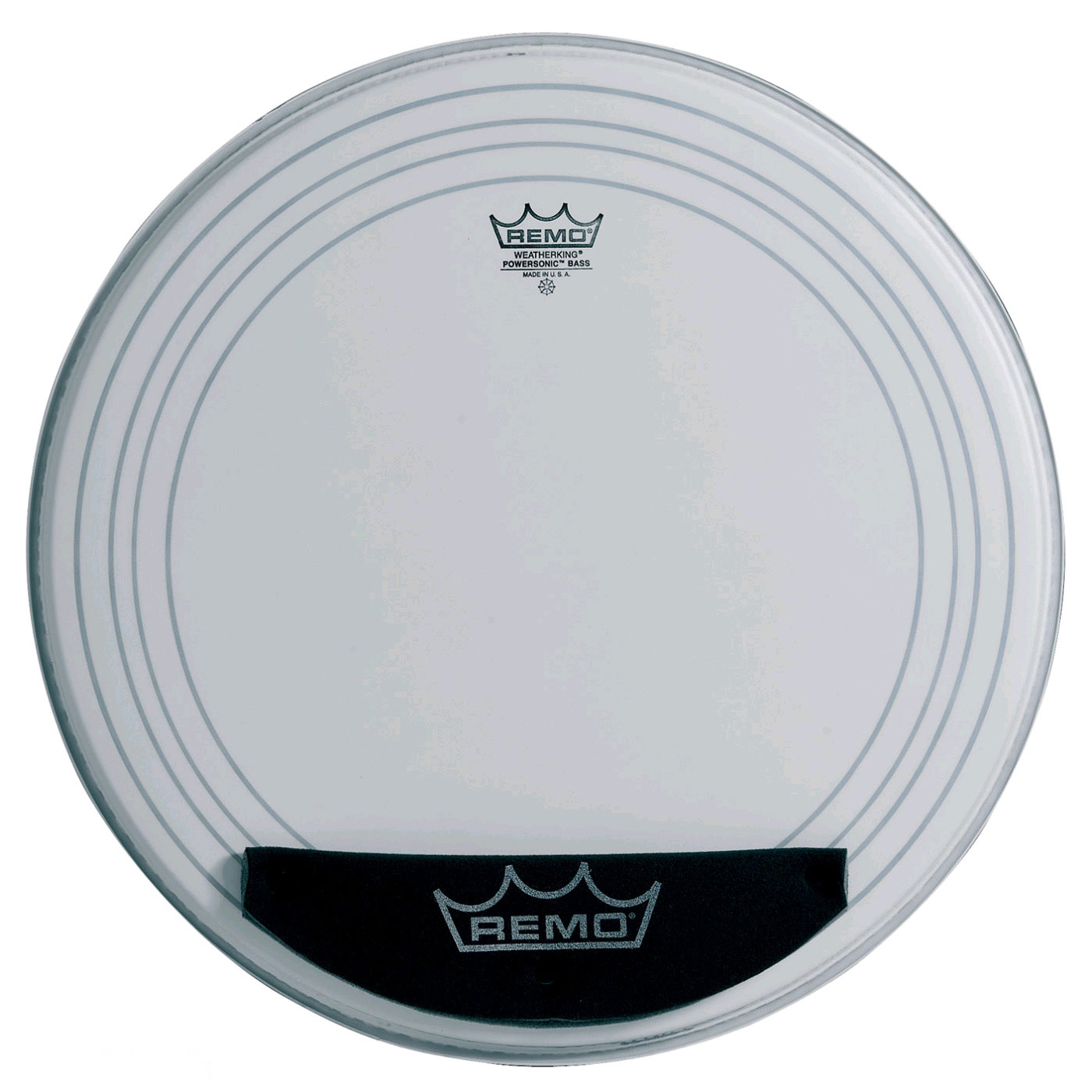 """Remo 24"""" Powersonic Coated Bass Drum Head"""