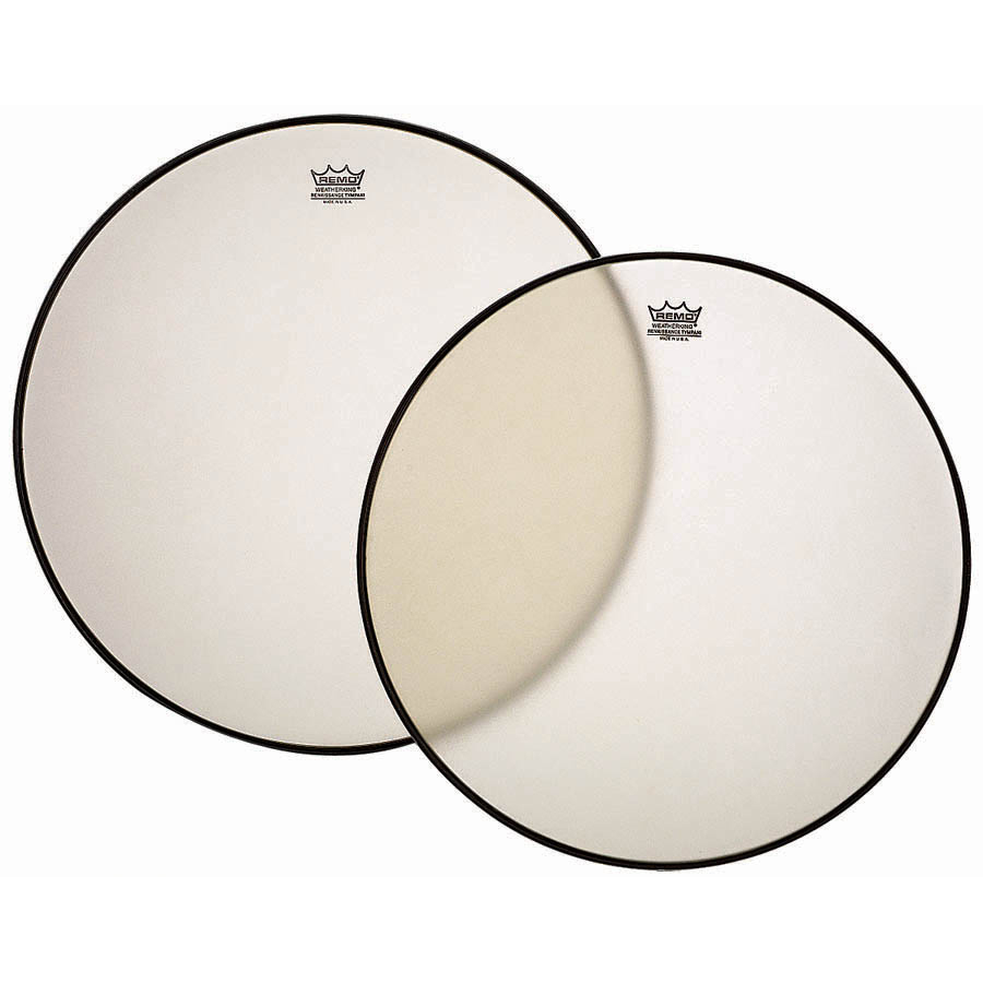 "Remo 23"" RC-Series (Renaissance) Hazy Timpani Head with Low-Profile Steel Insert Ring"