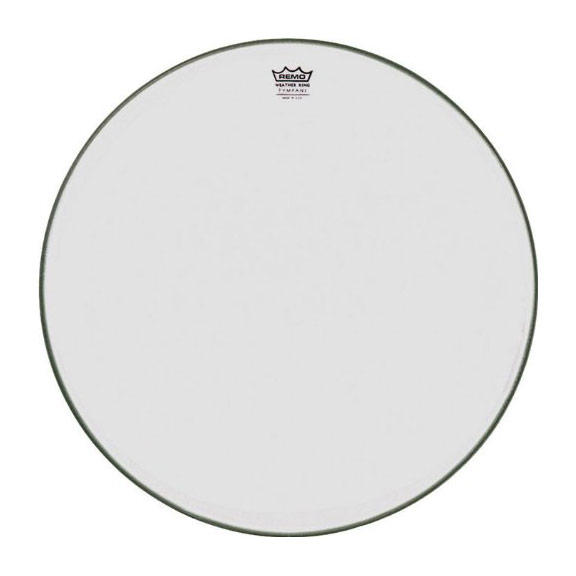 "Remo 28"" RC-Series (Renaissance) Hazy Timpani Head with Low-Profile Steel Insert Ring"