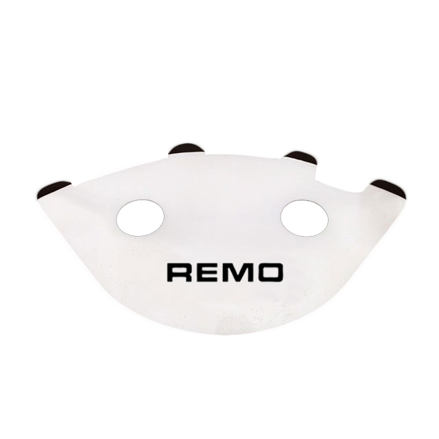 "Remo 13"" White Sound Reflector"