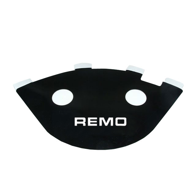 "Remo 14"" Black Sound Reflector"