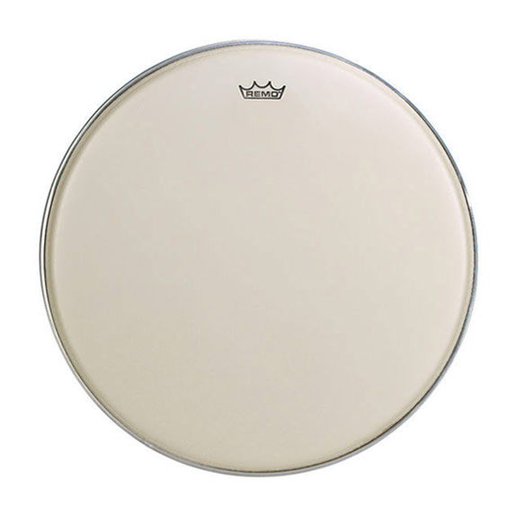 "Remo 23"" TC-Series (Custom) Hazy Timpani Head with Low-Profile Steel Insert Ring"