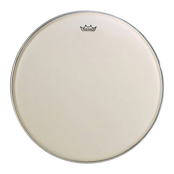 "Remo 27.5"" TC-Series (Custom) Hazy Timpani Head with Low-Profile Steel Insert Ring"