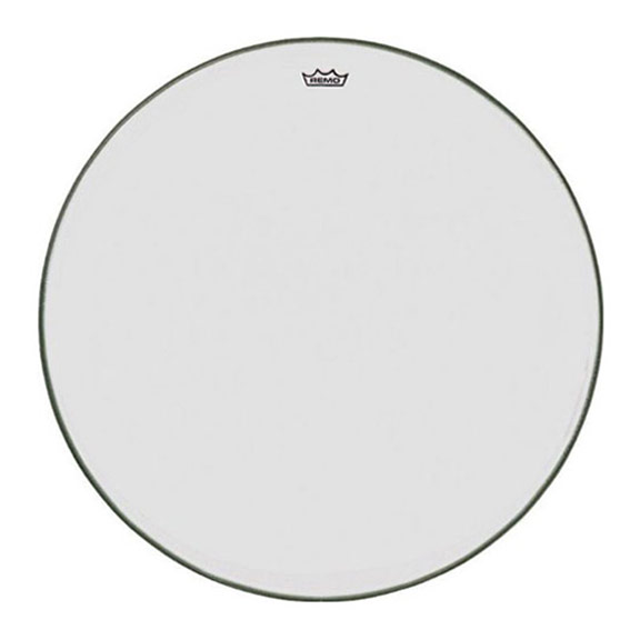 "Remo 28.5"" TC-Series (Custom) Clear Timpani Head with Steel Insert Ring"