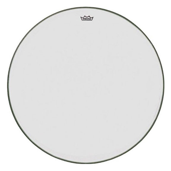 "Remo 31"" TC-Series (Custom) Clear Timpani Head with Steel Insert Ring"