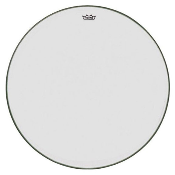"Remo 32"" TC-Series (Custom) Clear Timpani Head with Steel Insert Ring"