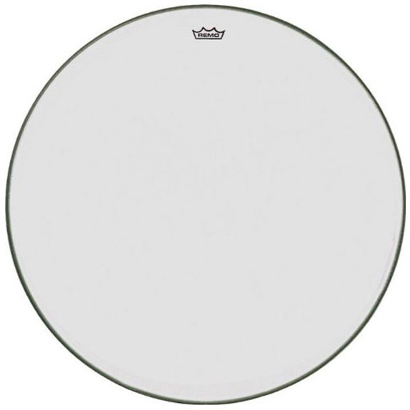 "Remo 34"" TC-Series (Custom) Clear Timpani Head with Steel Insert Ring"