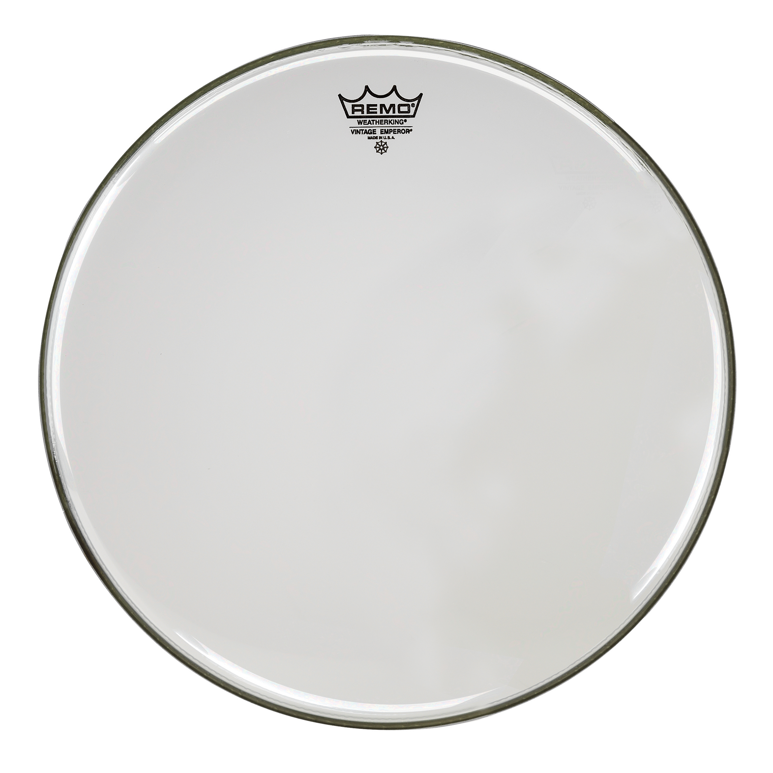 "Remo 12"" Emperor Vintage Clear Drum Head"