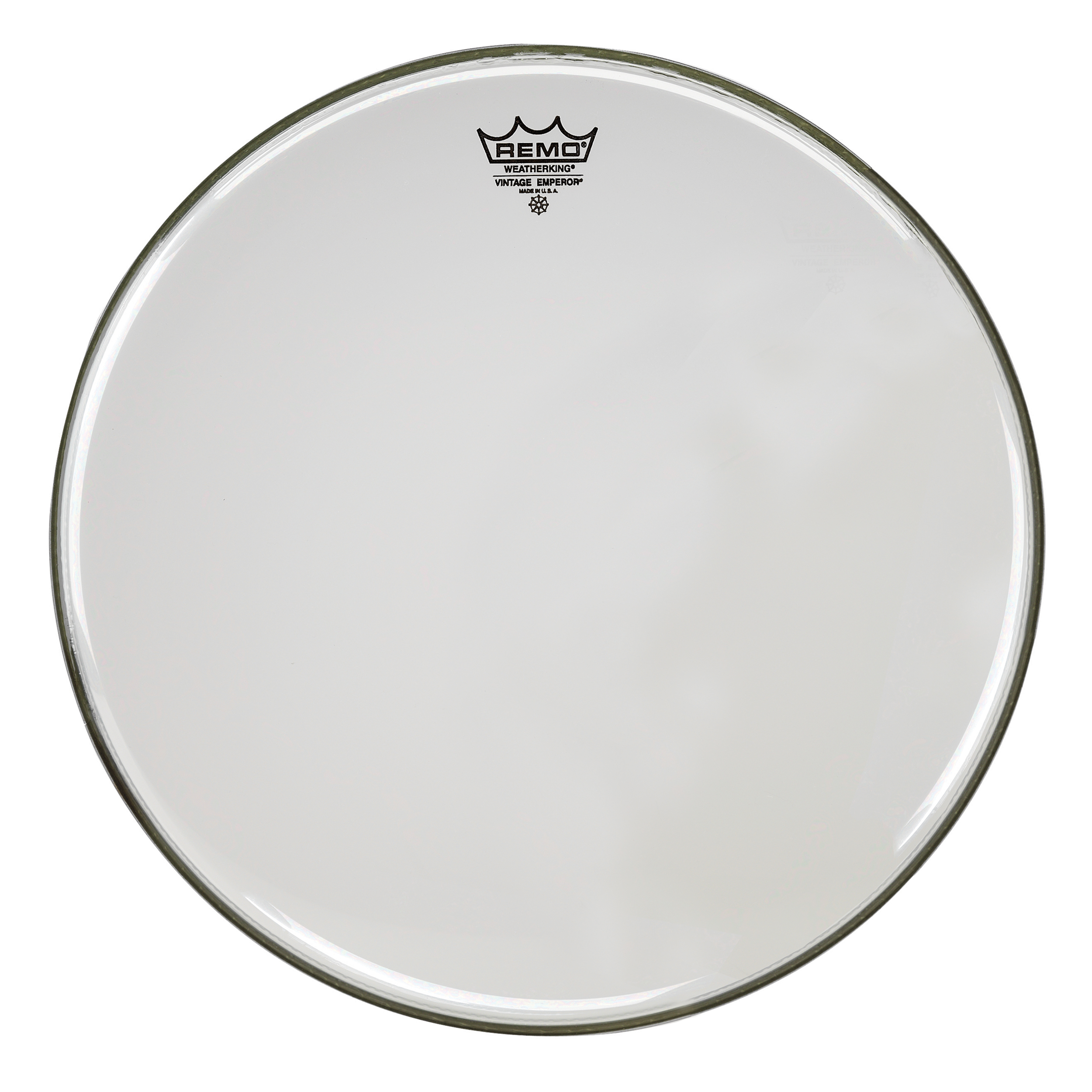 "Remo 13"" Emperor Vintage Clear Drum Head"