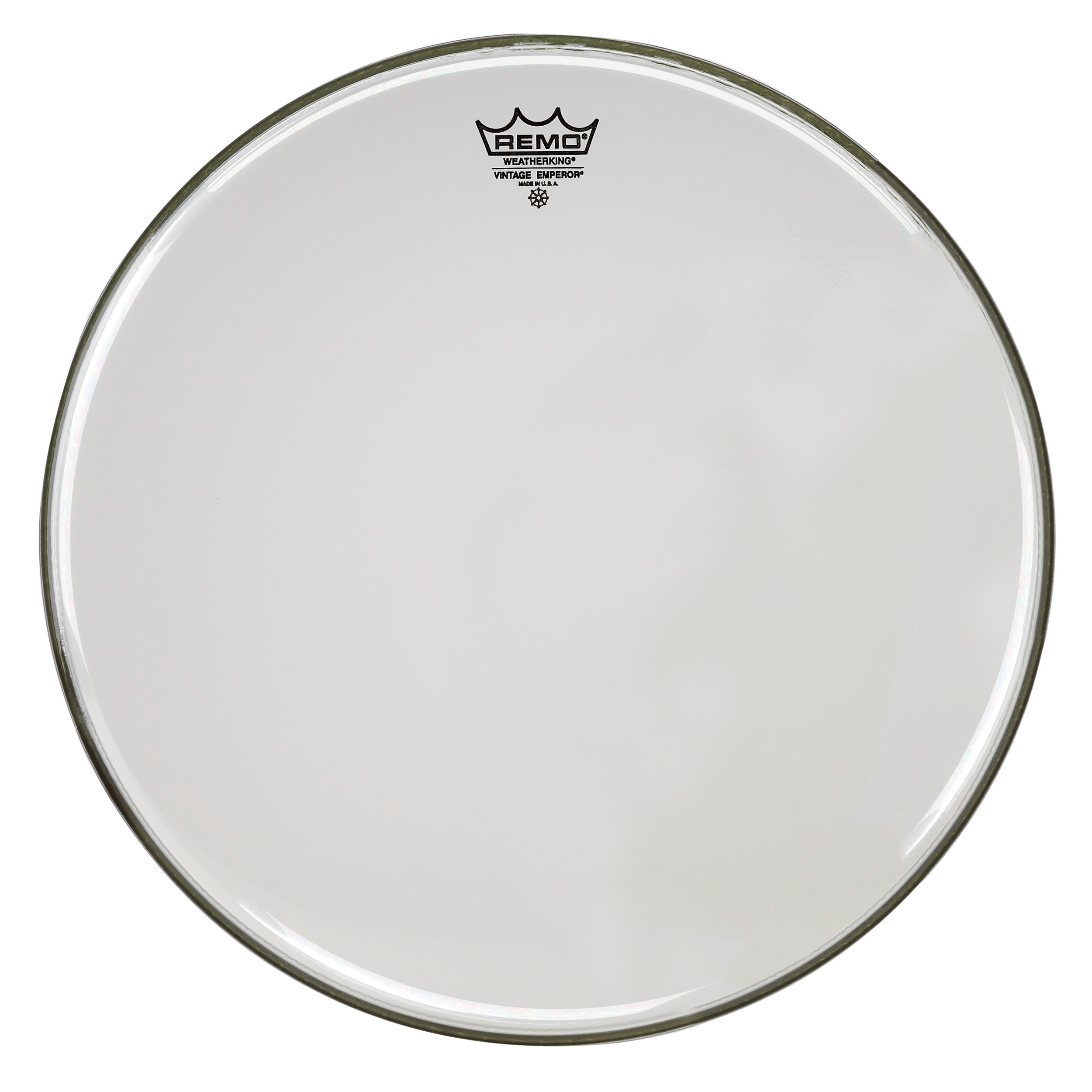 "Remo 15"" Emperor Vintage Clear Drum Head"