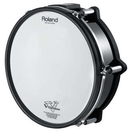 Roland V-Pad Snare for TD-30KV, Black Chrome