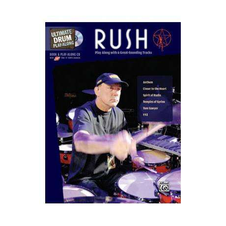 Ultimate Drum Play-Along: Rush Drum Set Book