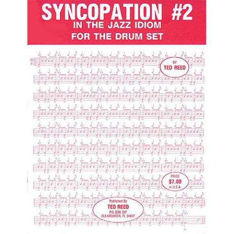 Syncopation No. 2: In the Jazz Idiom for the Drum Set by Ted Reed