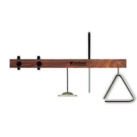 TreeWorks Triangle Mount with Finger Cymbal and Beater
