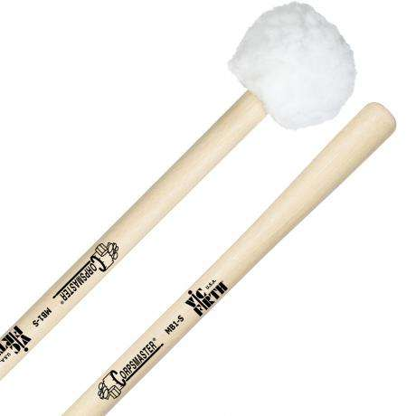 Vic Firth MB1S Corpsmaster Small Puff Marching Bass Drum Mallets