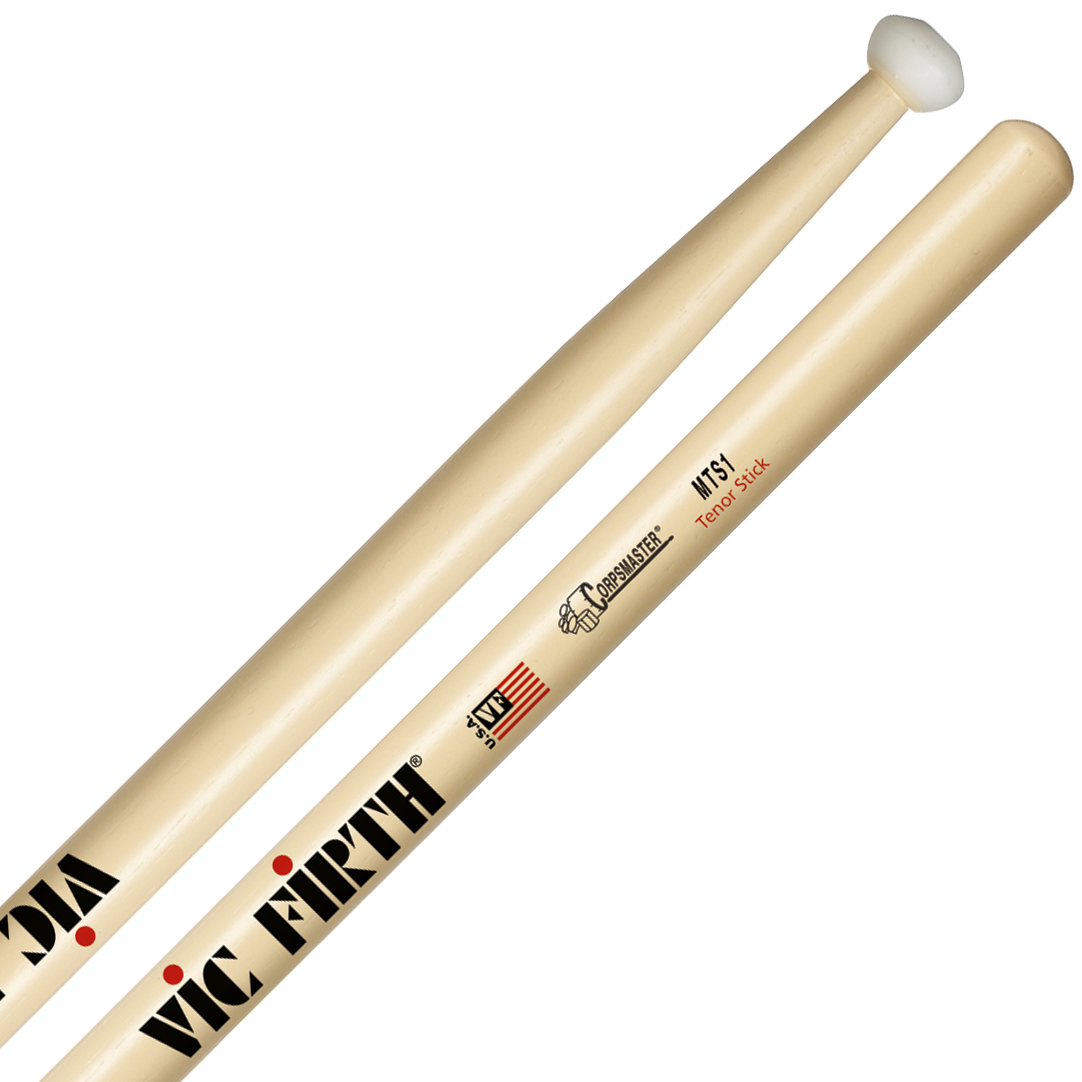 Vic Firth MTS1 Corpsmaster Marching Tenor Sticks
