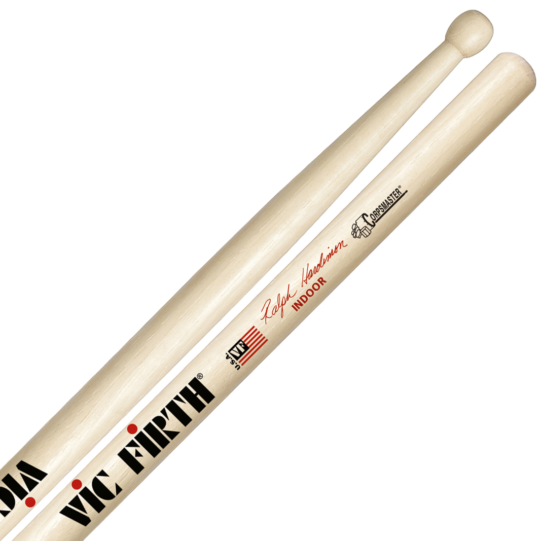 Vic Firth SRHI Ralph Hardimon Indoor Corpsmaster Signature Marching Snare Sticks