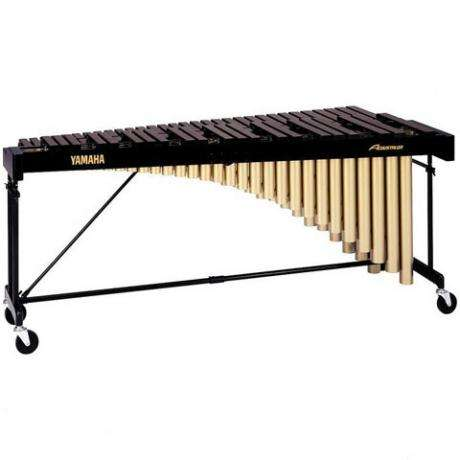 Yamaha 4.3 Octave Acoustalon Marimba with drop cover