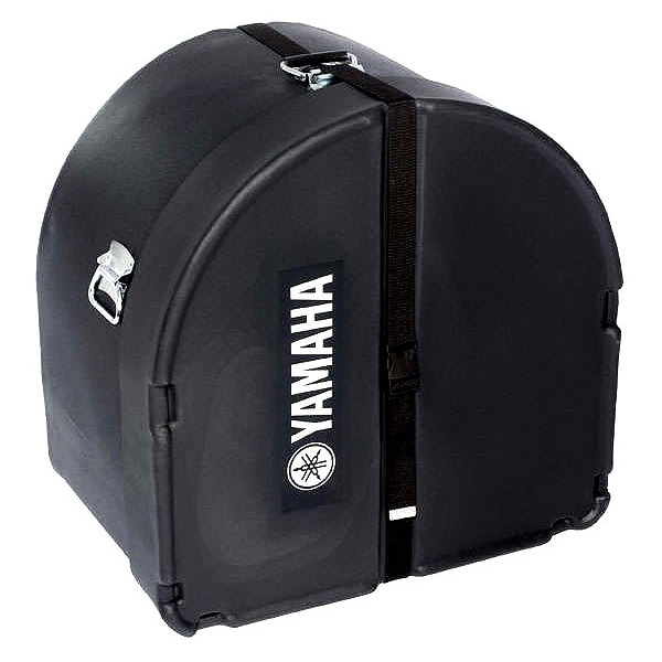 "Yamaha 14"" (Deep) x 22"" (Diameter) Black Marching Bass Case"