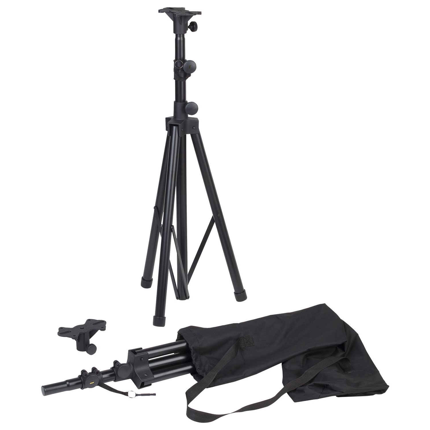 "Yamaha Aluminum Tripod Stands 1-3/8"" Diameter, Sold in Pairs (Includes ADP138 Adapter Plates)"