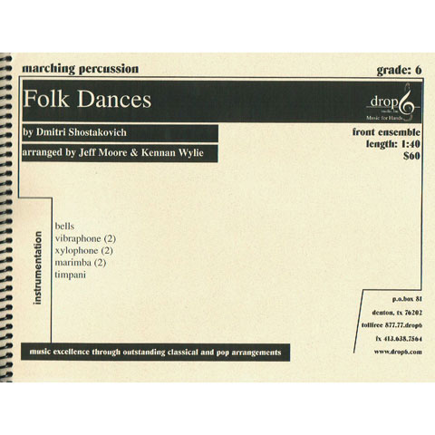 Folk Dances by Shostakovich arr. Moore and Wylie