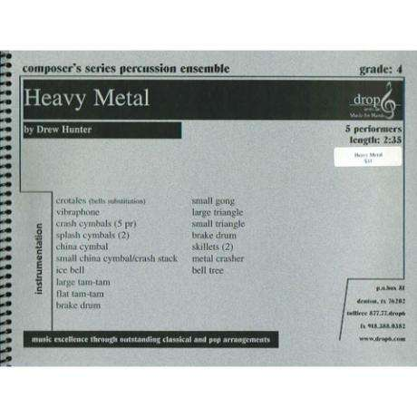 Heavy Metal by Drew Hunter