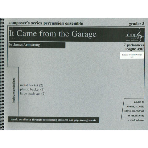 It Came from the Garage by James Armstrong