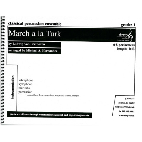 March a la Turk by Ludwig Von Beethoven arr. M. Hernandez