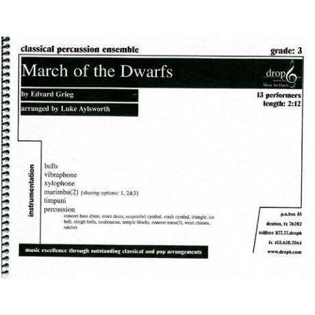 March of the Dwarfs by Grieg arr. Aylsworth