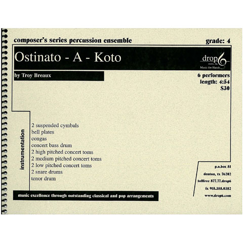 Ostinato-A-Koto by Troy Breaux