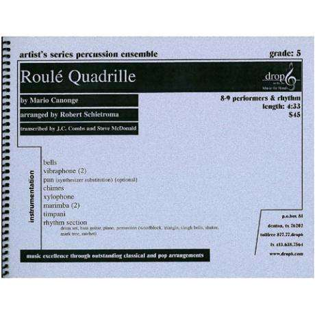 Roule Quadrille by Mario Canonge arr. McDonald and Schietroma