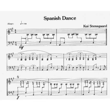 Spanish Dance by Kai Stensgaard