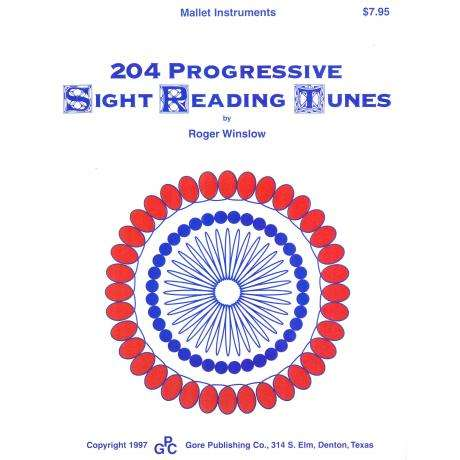 204 Progressive Sight Reading Tunes by Roger Winslow