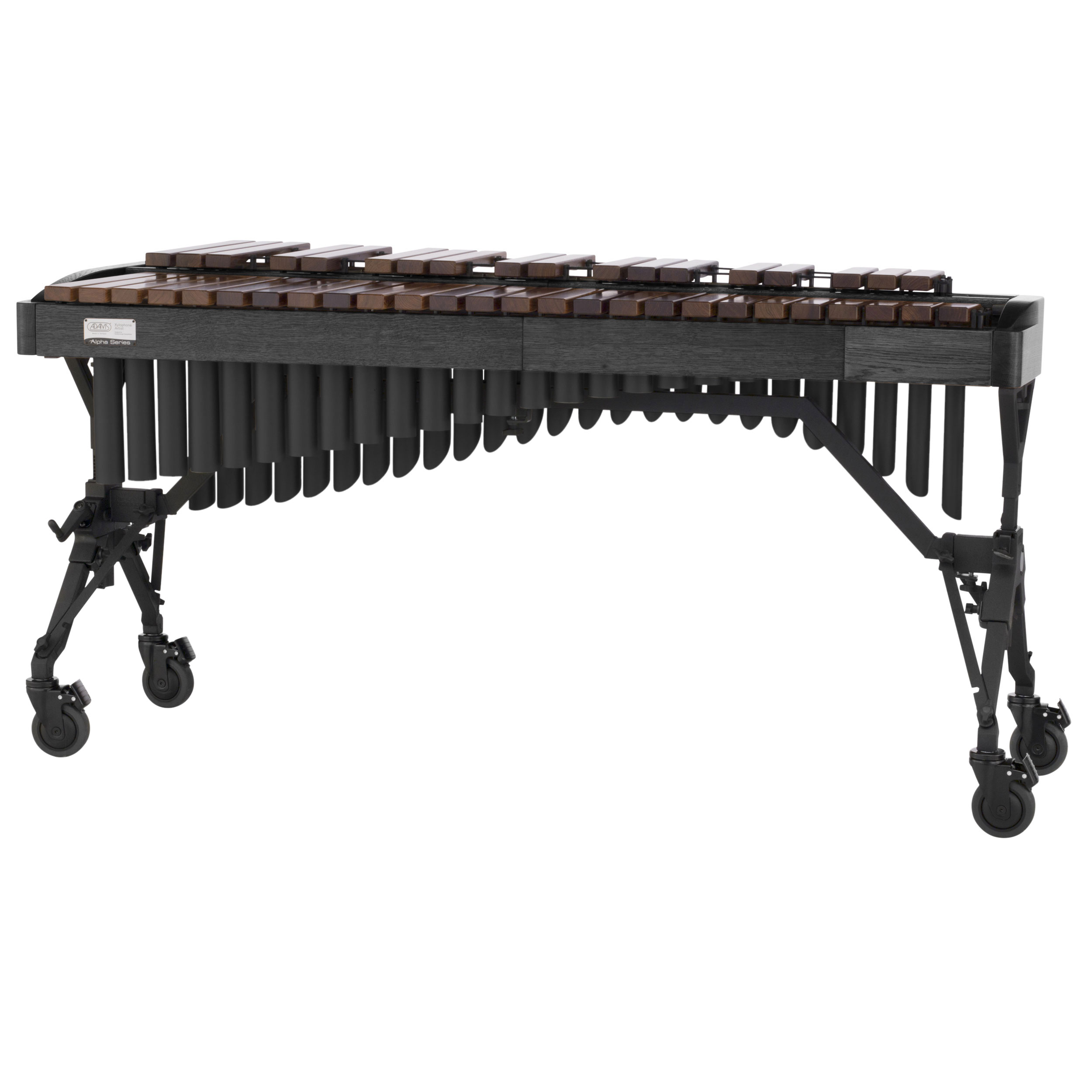 Adams 3.5 Octave Alpha Rosewood Xylophone with Graphite Oak Rails & Black Resonators