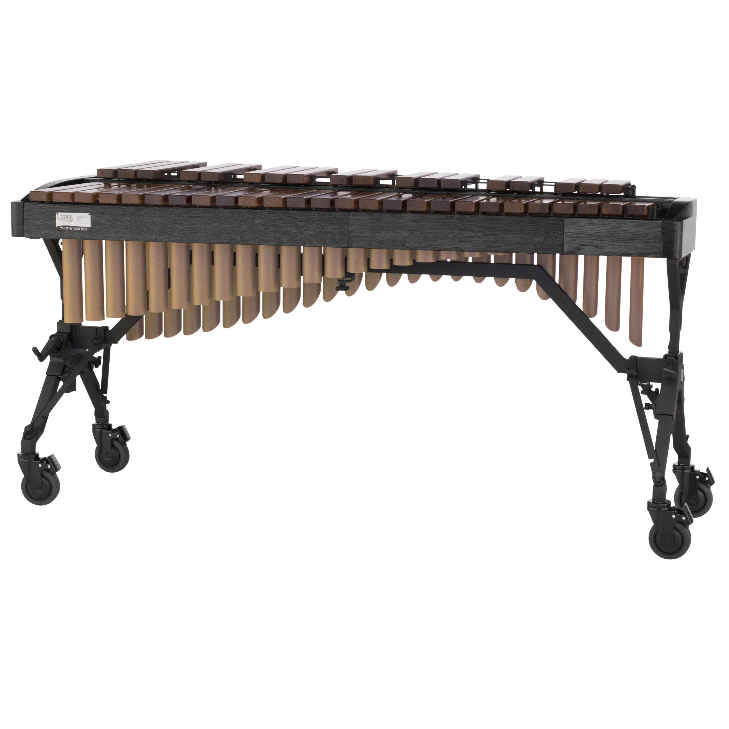 Adams 3.5 Octave Alpha Rosewood Xylophone with Graphite Oak Rails & Satin Gold Resonators