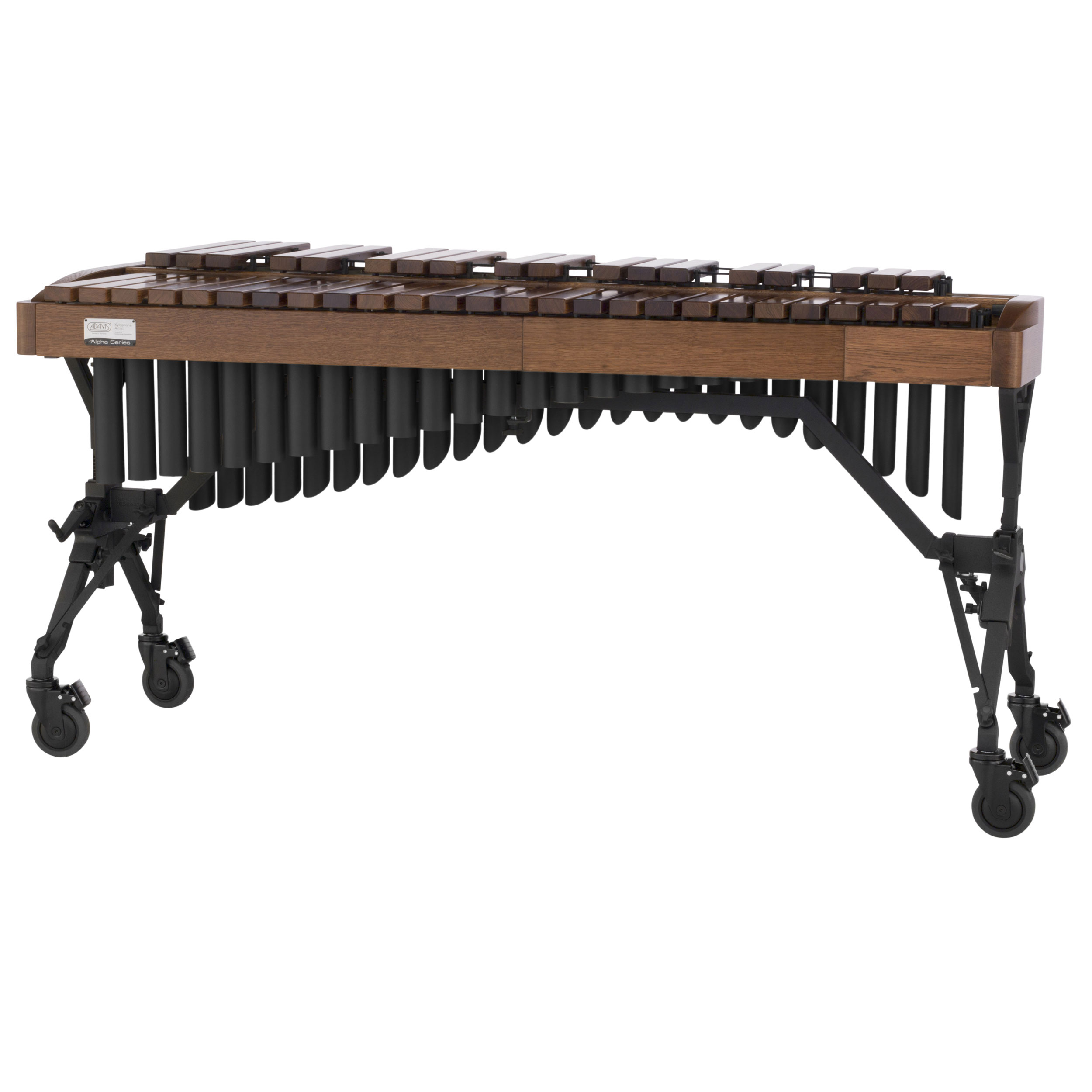 Adams 3.5 Octave Alpha Rosewood Xylophone with Walnut Oak Rails & Black Resonators